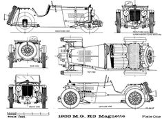 MG K3 (1933) | SMCars.Net - Car Blueprints Forum