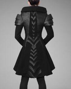 """declencheurs: """" Gelareh designs coats """""""