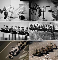 Design Free Thursday | Famous Photos Recreated With Lego. | yellowtrace blog »