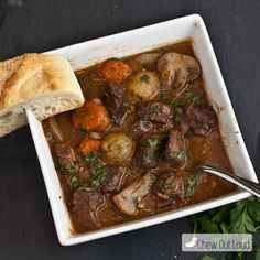 French Beef Stew (Bo