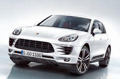 2014 Porsche Macan Front Angle