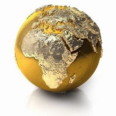 The world......in gold!