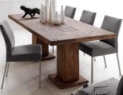 MALIK Massivholz Säulentisch Eiche 180 / 220 / 260 / 300 / / 400 cm Eiche  180x90 cm   verwittert Jetzt bestellen unter: http://www.woonio.de/p/malik-massivholz-saeulentisch-eiche-180-220-260-300-400-cm-eiche-180x90-cm-verwittert/