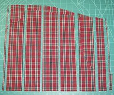 How to cut t-shirts for repurposing into quilts