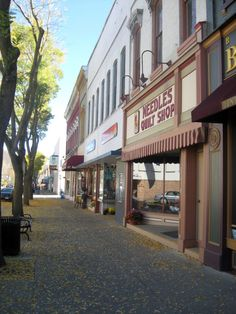 Or, simply stroll down Main Street, stopping to visit the eclectic shops as the fall leaves crunch beneath your feet.