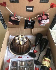 Birthday Gifts For Boyfriend Diy, Creative Gifts For Boyfriend, Cute Boyfriend Gifts, Cute Birthday Gift, Birthday Gifts For Sister, Anniversary Gifts For Him, Diy Birthday, Diy Presents For Boyfriend, Birthday Candy
