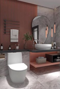 Washroom Design, Toilet Design, Bathroom Design Luxury, Modern Bathroom Design, Small Bathroom Interior, Modern Luxury Bathroom, Small Bathroom Layout, Open Bathroom, Master Bathroom