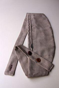 Handgemachte Hüfttasche - ein UNIKAT! von louloute auf DaWanda.com