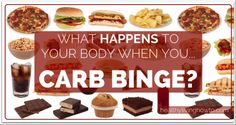 What Happens To Your Body When You... Carb Binge? It will be more than guilt, that's for sure. Check out this blog post at http://www.lowfatlowcarb.com/topics.php?id=19!