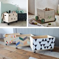 Stylish Ways to Hide Toys - by Kids Interiors