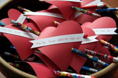 Here's a cute idea for your child to take to school for Valentine's day.