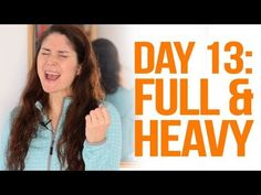 Expand Your Vocal Range: Challenge - Day 13 (Full & Heavy) Vocal Lessons, Singing Lessons, Singing Tips, Music Lessons, Vocal Warm Up Exercises, Singing Exercises, Vocal Training, Singing Techniques, 28 Day Challenge