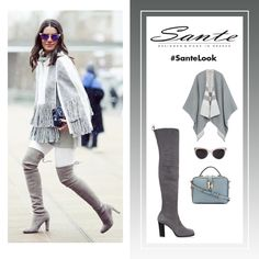 Grey is the new black! #SanteLook Shop NOW: www.santeshoes.com