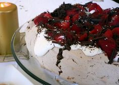 Chocolate Pavlova  By Nigella Lawson
