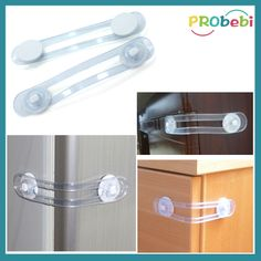 Baby Child Safety Toilet Lock Cabinet Lock Multi-function Dependable Industries inc