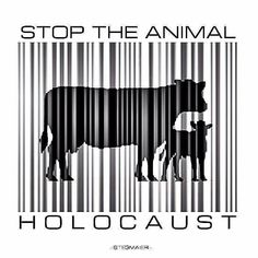 Live in alignment with your morals, please stop the animal holocaust, live #vegan