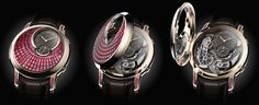 Romain Gauthier Logical One Secret Ruby watch