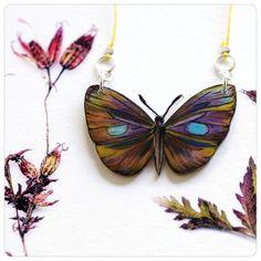 Schmetterlingskette Unikat