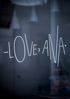 – Love, Ana - A new design studio, shop and gallery in Zagreb, Croatia - emmas designblogg