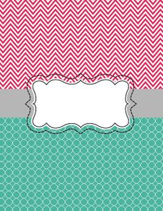 Binder cover DIY Free download