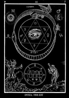 The Eternal. Ouroboros usually is depicted as a snake eating it's own tail. Sometimes it's a dragon, but mostly serpentine in most sources. Wiccan, Magick, Witchcraft, Occult Symbols, Occult Art, Tarot, Gravure Illustration, Book Of Shadows, Sacred Geometry