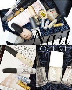 Nail Tool Kit Makeup And Beauty Blog, Nail Art Tools, Tool Kit, Nails, Projects, Ongles, Finger Nails, Nail, Tile Projects