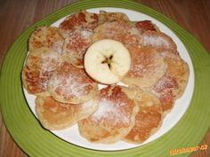 JABLEČNÉ LÍVANCE DĚKUJI RECEPTY.CZ. Pancakes, French Toast, Breakfast, Morning Coffee, Pancake, Crepes