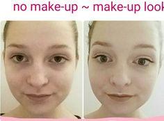Hier ein kleiner No Make-up Make-up look nur mit Drogerie Produkten (unter  20€):  Concealer: Catrice Liquid Camouflage (3,45€) Make-up Ei: Beauty Blender v. ebelin (2,45€) Puder: Essence All about matt (1,25€) Brauen gel: Essence Make me brow (2,45€) Lidschatten+Highlighter: Chocolatespalette + snowflake essence (2,45€)                           (0,95€) Mascara: Essence all eyes on me (1,25€) Lipliner: p2 prima ballerina (0,95€)