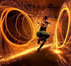Dance is like a fire. It's so dangerous, beautiful ans sexy.