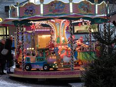 Karussel auf dem Friedrichshafener Weihnachtsmarkt