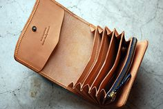 Leather Wallets by Roberu for Blue Horizon | The Carry-SR