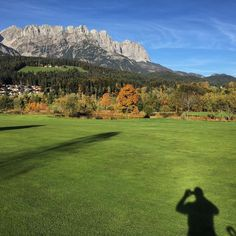 Shadow selfie #golf #lovetirol #mygolf #mylife #fun #fall #tirol #golfbroadcaster #GolfEurope #golfflow