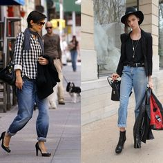 boyfriend jeans | jeans larghi | boyfriend | jeans strappati | jeans | idee look denim | idee outfit denim | idee look jeans |  denim 5