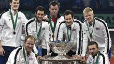 #tennis #news  Murrays in five-man GB Davis Cup squad