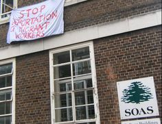 Love to protest. from anywhere possible. SOAS