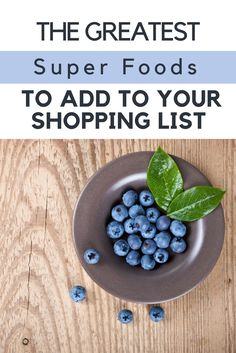 Wondering what #healthy #superfoods you should be eating this year? Then don't miss this post! #yummy goodness!