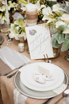 Photography: Greer G Photography - greergphotography.com Planning + Design: Tying the Knot Wedding Coordination - tyingtheknotweddingcoordination.com Floral Design: Bee\'s Weddings and Events - beesweddingdesigns.com  Read More: http://www.stylemepretty.com/2011/11/15/rehearsal-dinner-inspiration-by-tying-the-knot-wedding-coordination/