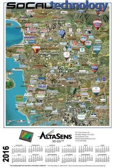 Silicon Valley Companies Map