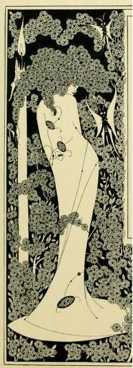 Border design from Salome by Aubrey Beardsley, 1893