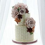 Roses and orchids by Leslea Matsis Cakes