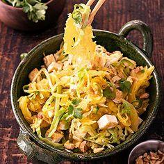 Spaghetti-Squash Pad Thai