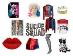 """harley quinn"" by minniemousebae on Polyvore featuring COS and Lane Bryant"