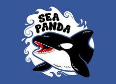 FOR BRENNYN   Sea Panda T-Shirt   SnorgTees