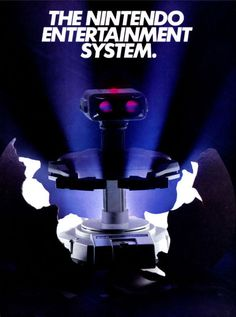 R.O.B. (Robotic Operating Buddy), released in Japan as the Family Computer Robot, is an accessory for the Nintendo Entertainment System (NES). It was launched in July 1985 in Japan, and October 1985 in North America.  #Nintendo #NES #Robot #Retrogaming