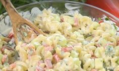 Macaroni Salad, Pasta Salad, Macaroni And Cheese, Potluck Appetizers, Macaronis, Health Dinner, Cooking Recipes, Healthy Recipes, Potato Dishes
