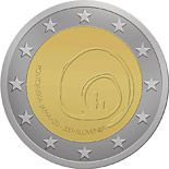 2 euro 800th Anniversary of the First Visit of the Postojna Cave - 2013 - Series: Commemorative 2 euro coins - Slovenia