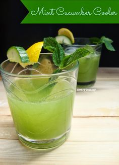19 Mouth-Watering, Yet Healthy Cucumber Drink Recipes  | 5 minutes 4 health