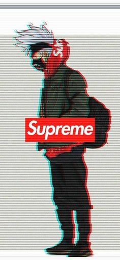 Supreme Wallpaper by EnXgMa - - Free on ZEDGE™ now. Browse millions of popular anime Wallpapers and Ringtones on Zedge and personalize your phone to suit you. Browse our content now and free your phone Supreme Iphone Wallpaper, Naruto Wallpaper Iphone, Deadpool Wallpaper, Glitch Wallpaper, Graffiti Wallpaper, Marvel Wallpaper, Cartoon Wallpaper, Hipster Wallpaper, Naruto Uzumaki Art