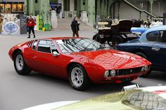 De Tomaso Mangusta - Perfect Red