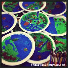 3rd Grade Thoughts: Making Landforms & Using the 7 Habits